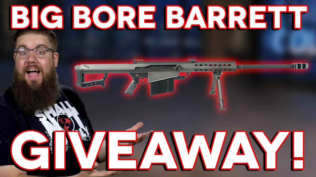 The Gun Collective's BIG BORE BARRETT Giveaway! #win #barrett #m82a1 #gun #rifle #bmg #rifle