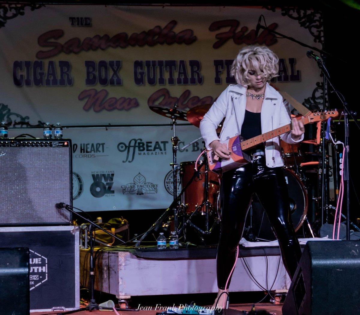 Samantha Fish Cigar Box Guitar Festival Samfishcigarbox Twitter