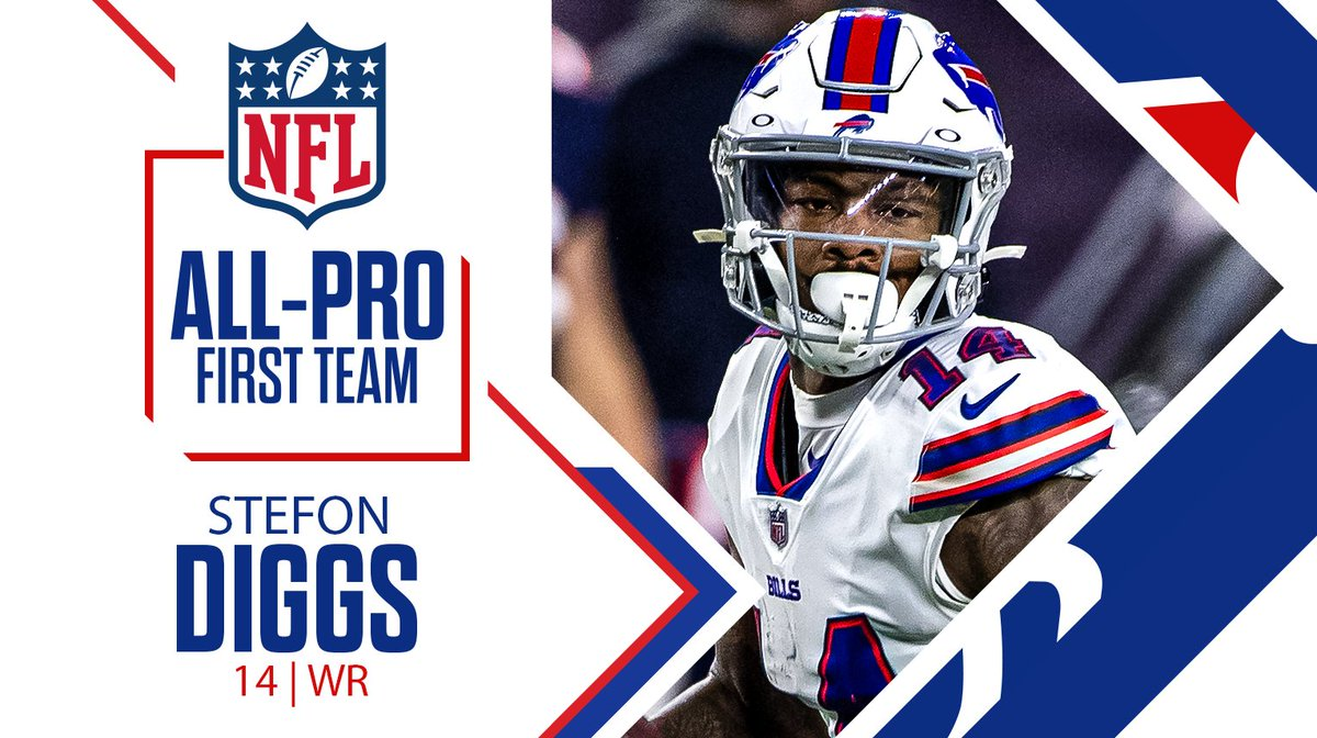 First Team All-Pro for the first time in his career‼️  Congratulations, @StefonDiggs: