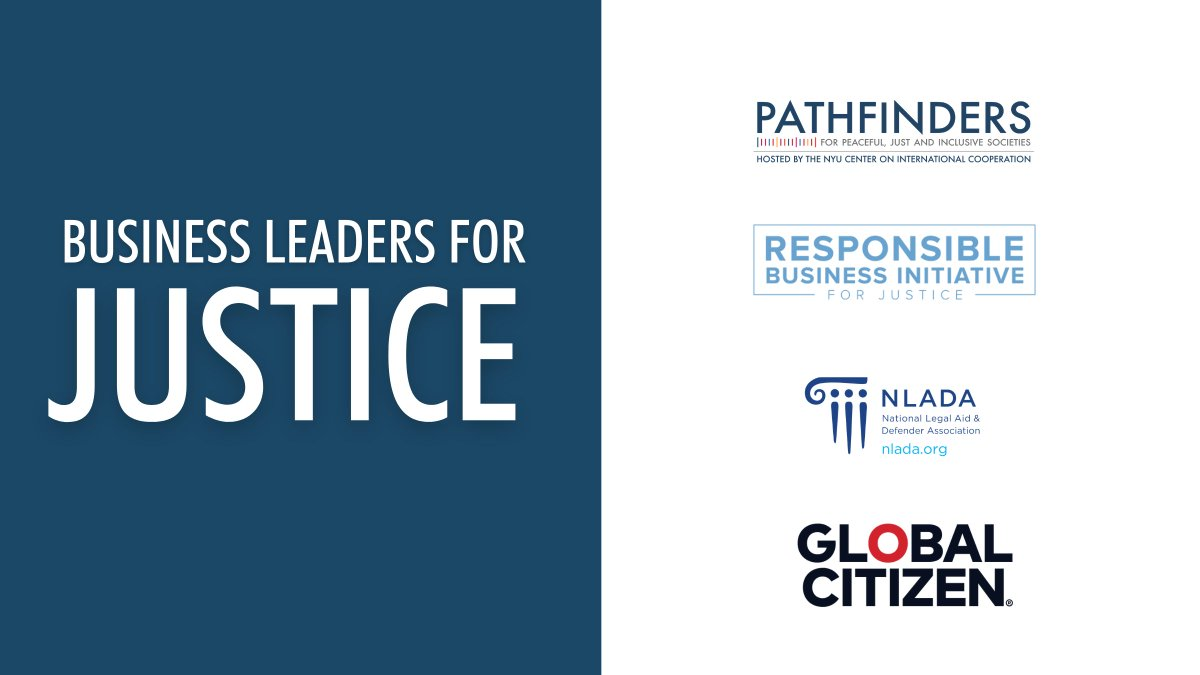 Interested in learning more about the Business Leaders for Justice Coalition and our Justice Imperative Principles?   🗓 Join us for a virtual discussion on Thursday, 14 January, 11:00am (EST)  Register 👉    #JusticeForAll