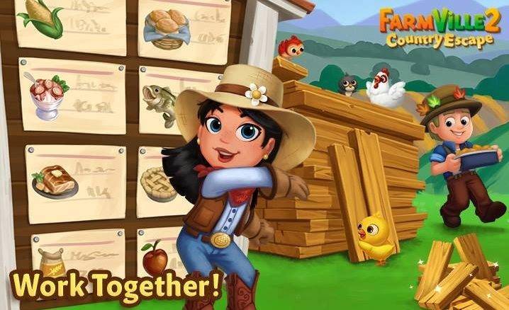 Making friends on #FarmVille is a tradition! So come add friends and join the Co-Op you want on #FarmVille2CountryEscape @farmville2  Play Now 👩‍🌾🐥