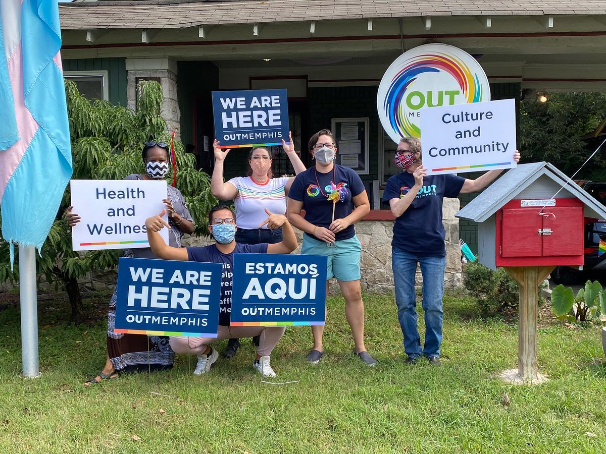 Partner Spotlight: @OUTMemphis, which empowers, connects, educates and advocates for the LGBTQ community of the Mid-South. To view services, programs, and peer-led groups, visit .  #endHIV901 #memphis #HIV #HIVawareness #HIVepidemic #stopHIVtogether