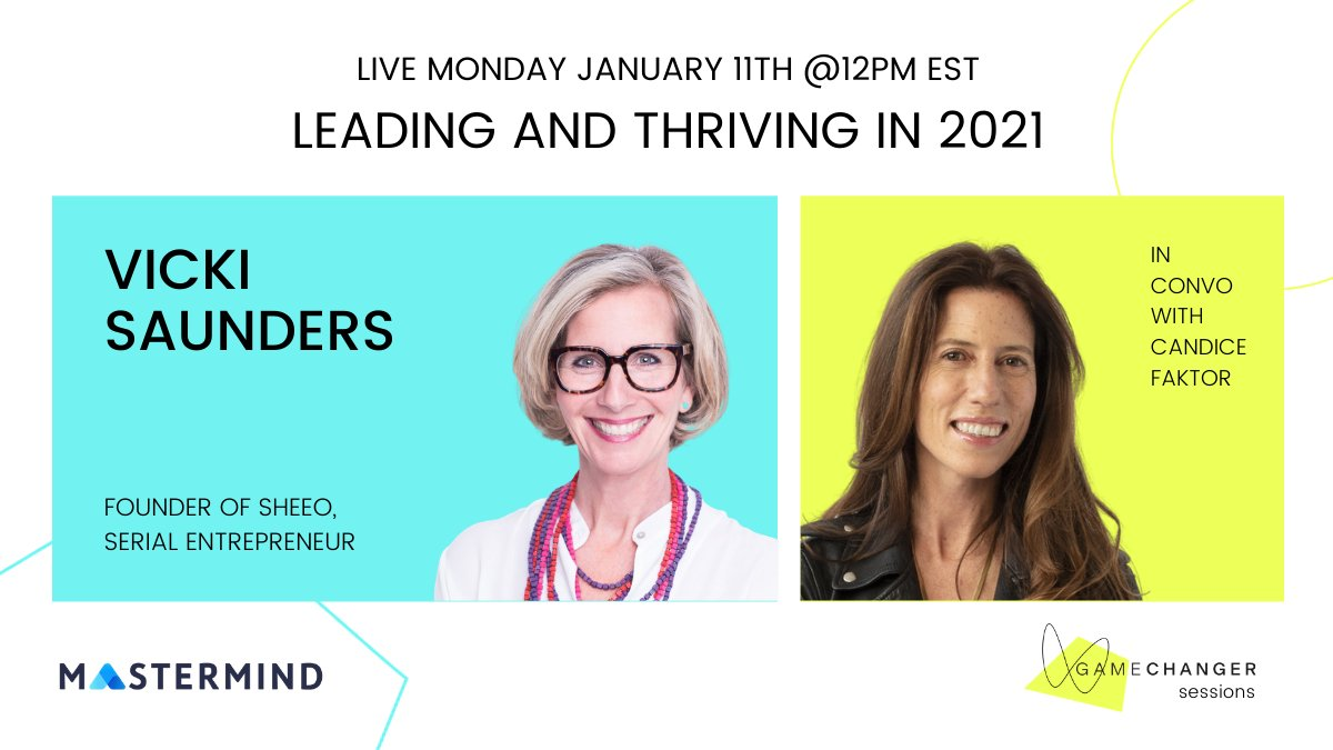 Great event from our friends at #GamechangerSessions and @LiveMastermind. Host @CandiceFaktor speaks with @vickis from @sheeo_world.  Free sign up 👉  https://t.co/uLCKzjEkmm https://t.co/G0BYZsikMy