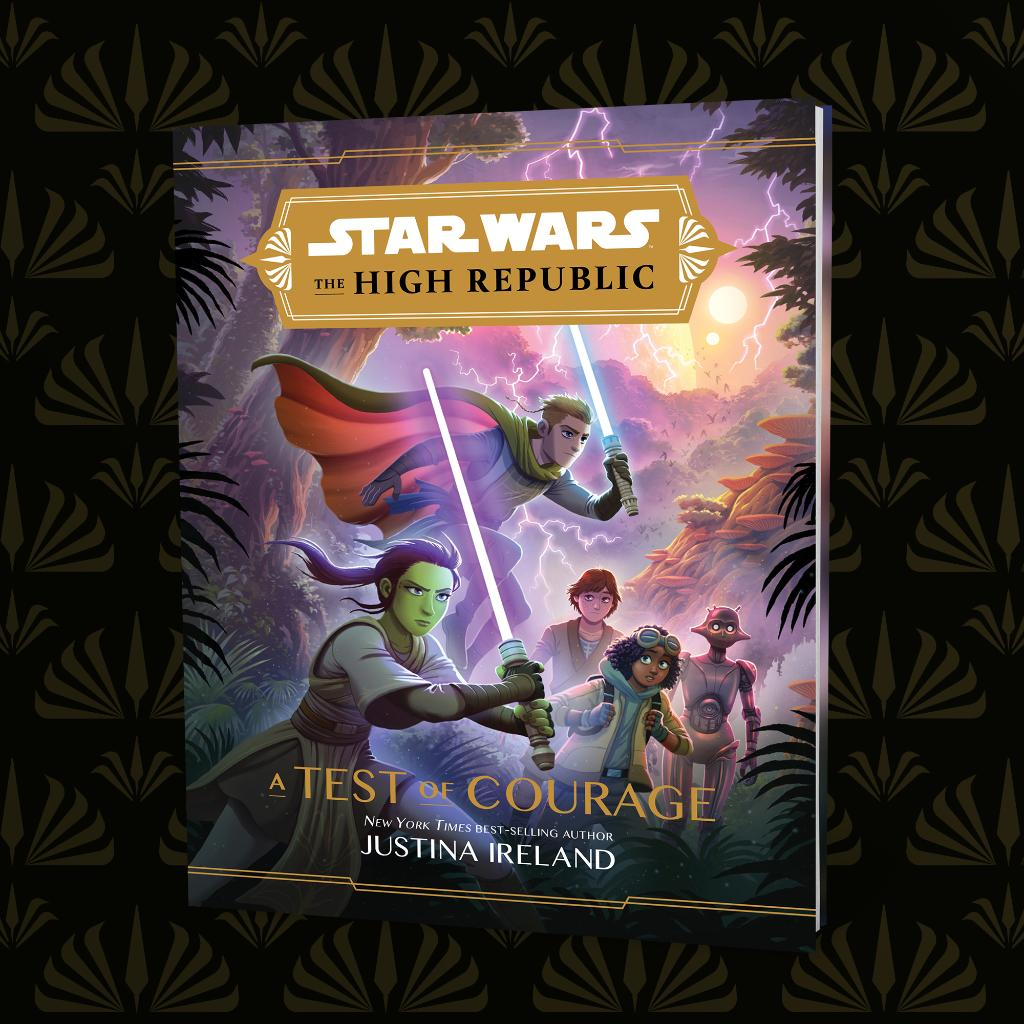 A teen Jedi and her friends fight to survive on a jungle moon in this adventure set in the all-new era of #StarWarsTheHighRepublic: