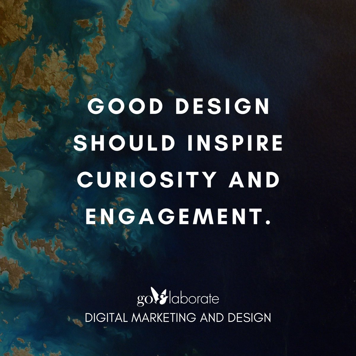Good design should inspire curiosity and engagement.  #fridaymorning #FridayThoughts #FridayFeeling #design  #goElaborate
