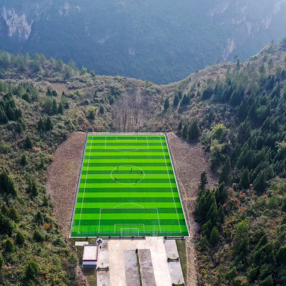 Replying to @brfootball: Imagine playing here 😍  📍 Chongqing, China