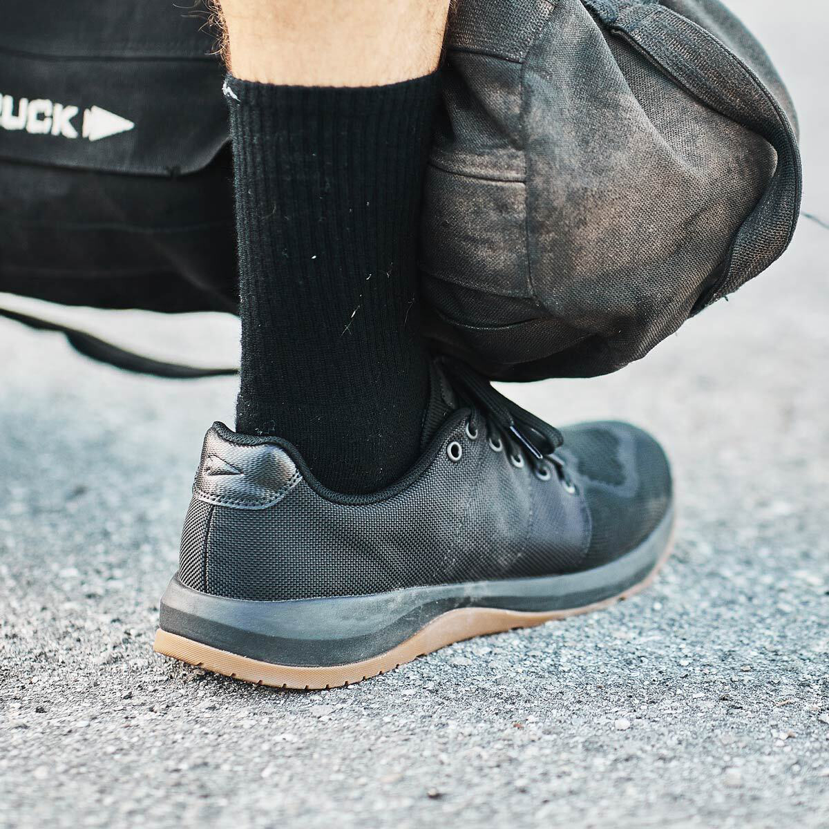 Lift heavier. Sprint faster. Ruck harder. The @GORUCK  Ballistic Trainers offer 3x support and 3x stability for all 3 of your arches.   Shop Now: