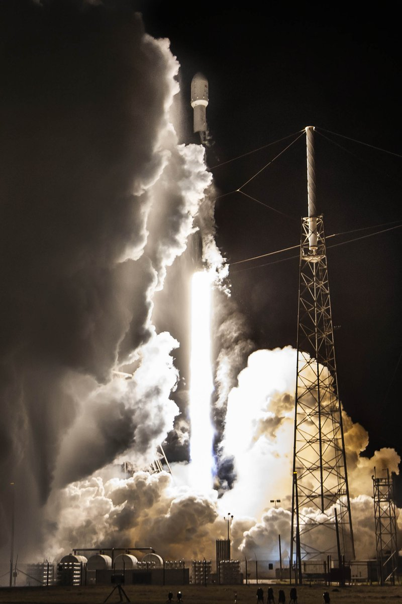 Images from Falcon 9's first launch of the year and 50th flight of a previously flown booster →