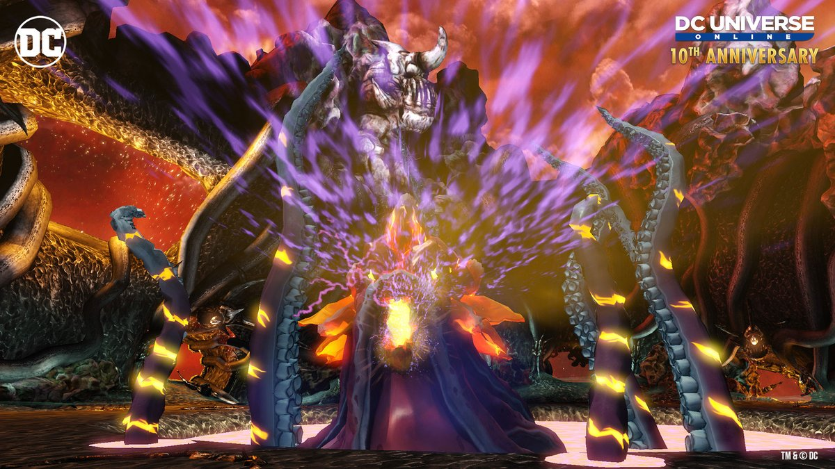 Face the Kraken in the new event and elite raid in the DCUO #10thAnniversary Event!