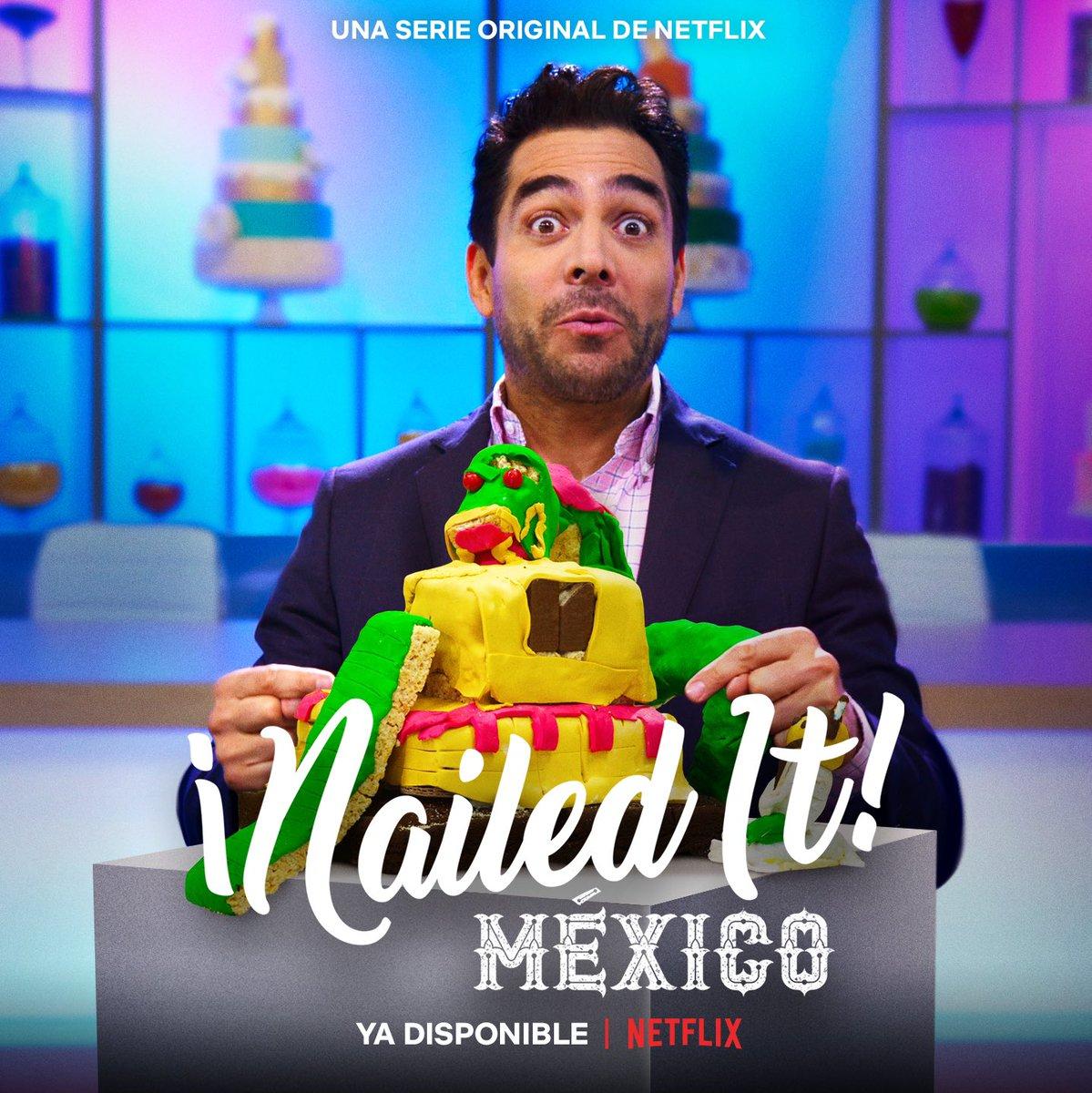 🎬 Ya está disponible #NailedItMexico 🎂 Comienza una nueva aventura llena de colores y caos 😲   🧁 Disfruta la #TerceraTemporada solo por @NetflixLAT https://t.co/mNIqqrZtJy