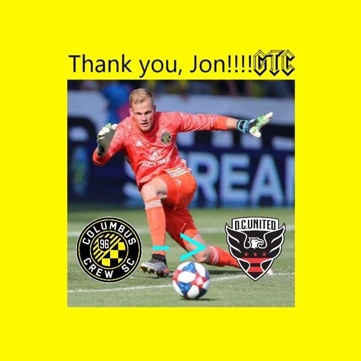 Thank you @JonKempin21 for everything 💛🖤💪🏻 #ColumbusCrew #Crew96 #CrewNation #GlorytoColumbus #MLS #offseason #Transfers take good care of him @dcunited #DCUnited