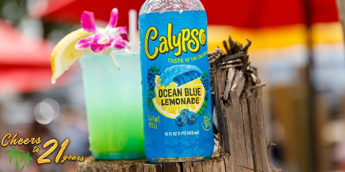 CHEERS TO 21 YEARS kicks off with the Calypso Blue Breeze! (For the recipe check out ) RT this post for a chance to WIN a 21st Birthday Party Pack. Cheers and Good Luck! #CheersTo21Years #TasteOfTheIslands
