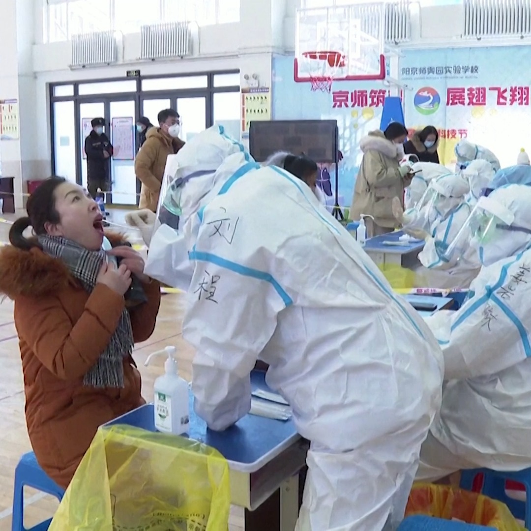 China has sealed off two cities, severing transportation links and barring millions from leaving, as it tries to curb the largest COVID-19 outbreak since summer.