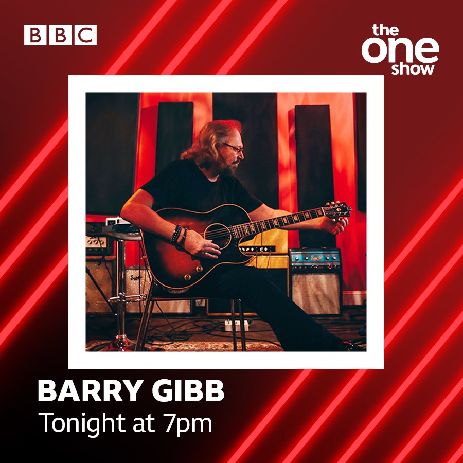 I'll be on the The One Show in the UK any minute. 7pm On the #bbc #TheOneShow