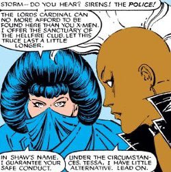 Next week's episode of CEREBRO will spotlight the X-Men's living computer: Sage, also known as Tessa! As Xavier's spy in the Hellfire Club, she proved there was nothing she wouldn't do. Send questions for me and guest @valentinemsm1th to cerebrocast@gmail.com! Recording tomorrow.
