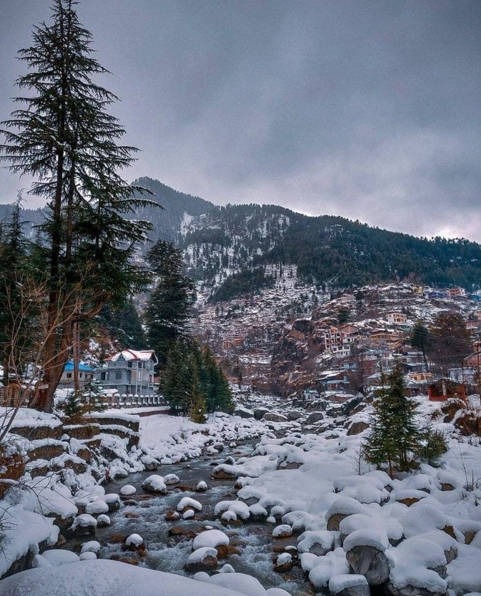 Himachal ❄️ - Heaven ❣️ #Himachal #mountain #snow #Snowfall #photography #PhotoOfTheDay #iamlifelover #India #ParvatiValley #Tosh