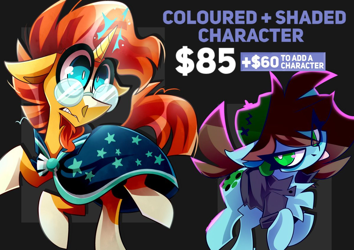 COMMISSIONS ARE NOW OPEN🎉🎉 ⬇️More info in thread⬇️