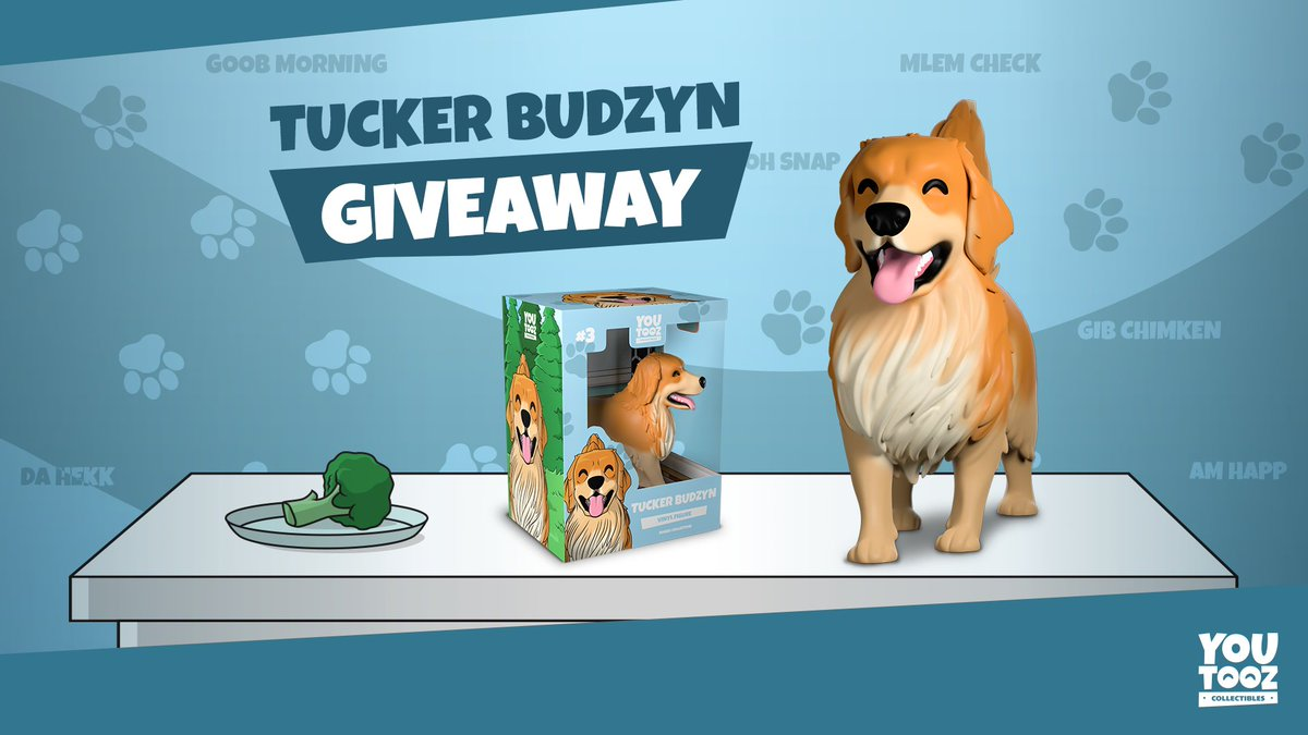 🚨GIVEAWAY🚨 Retweet and follow @youtooz for a chance to win one of Tucker's new Youtooz! We'll pick a few winners before the release on Jan 12th!