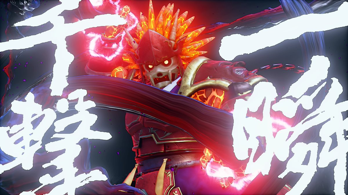 The Satsui no Hado awakens this FIGHTING EX LAYER Garuda crossover costume for Akuma!    Available through Extra Battle starting Jan 12. 👹👿