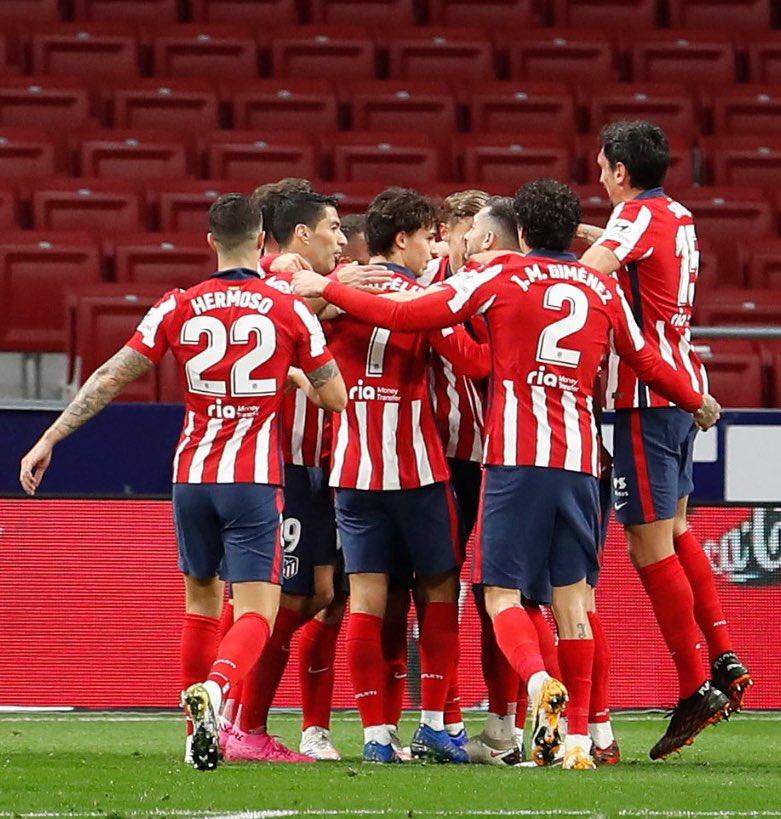 🔙 ¡Vuelve el fútbol! 🔙 ¡Vuelve @LaLiga! 💪🏼 ¡Vamos, @Atleti!  🔴⚪ #AúpaAtleti | ⚽️ #AtletiAthletic