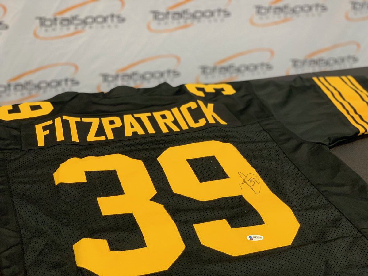 If Minkah Fitzpatrick has an interception AND the Steelers win tonight, we'll give a Minkah Fitzpatrick autographed jersey to someone who retweets this tweet and follows us 👀