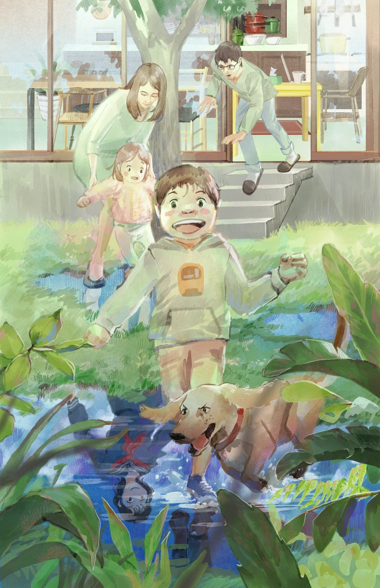 Mamoru Hosoda appreciation art 1 out of 3 (4?)