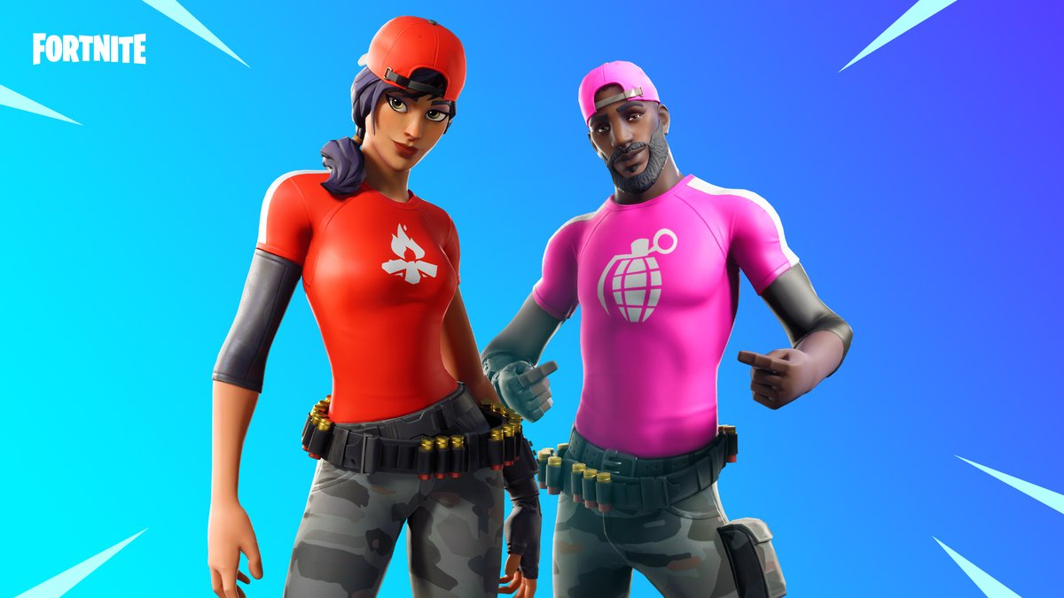 Show off your style with these customizable Outfits!  Grab the Banner Brigade Set now.