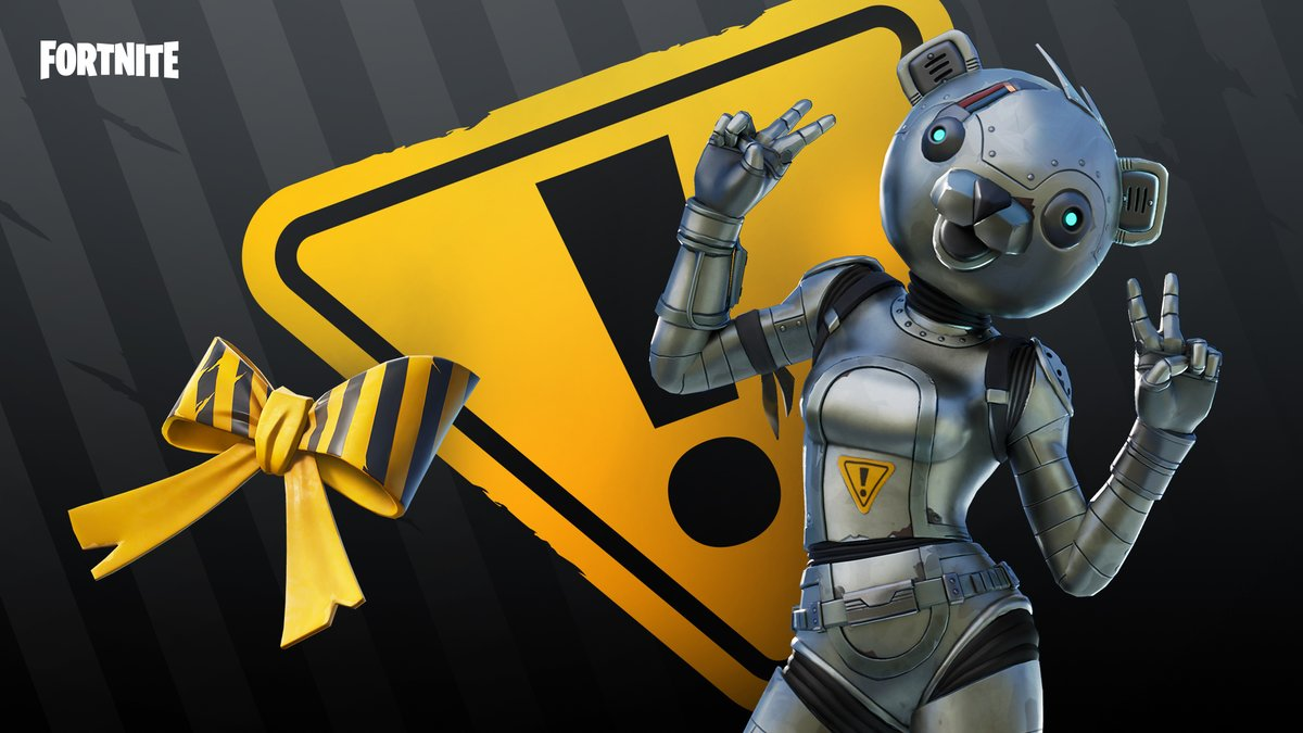 Metal on the outside but a friendly bear on the inside.  Grab the Metal Team Leader Outfit now!