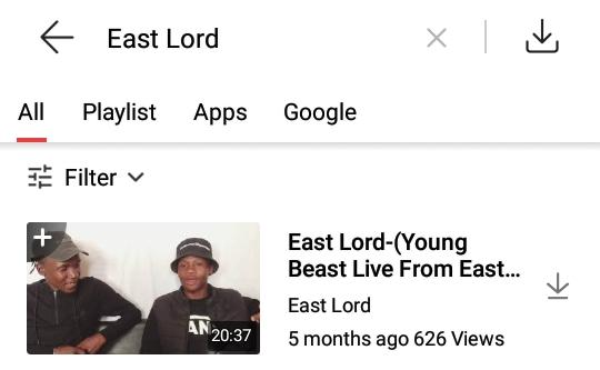 Replying to @EastRsa: You haven't checked this interview yet,peep it out on YouTube.