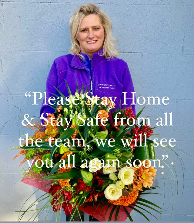 """For the  health & safety of our amazing staff & customers we have decided to close from Friday January 8th until it's safer to re-open. """"Stay Safe"""" #staystrong #amazingstaff ❤️#amazingcustomers #madewith❤️ #masterflorist 🙋♀️ #homeofcreativefloristry  🏠#flowersforeverlimerick"""