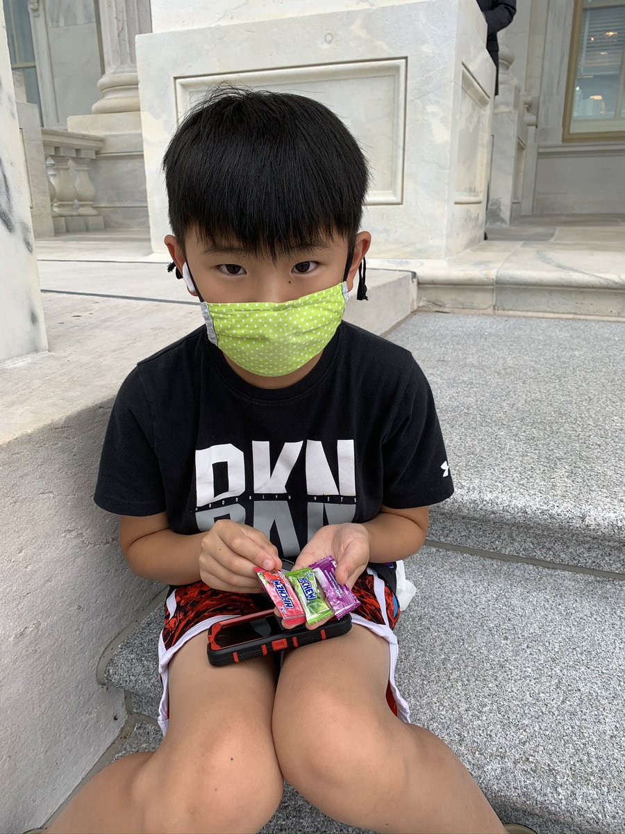 Sergeant at Arms charged with maintaining order in the House refused to let me bring my masked 10 yr old into the chambers when I had no childcare, forcing him to sit outside, but allows mask-less Republicans and domestic terrorists in to attempt to overthrow our government.