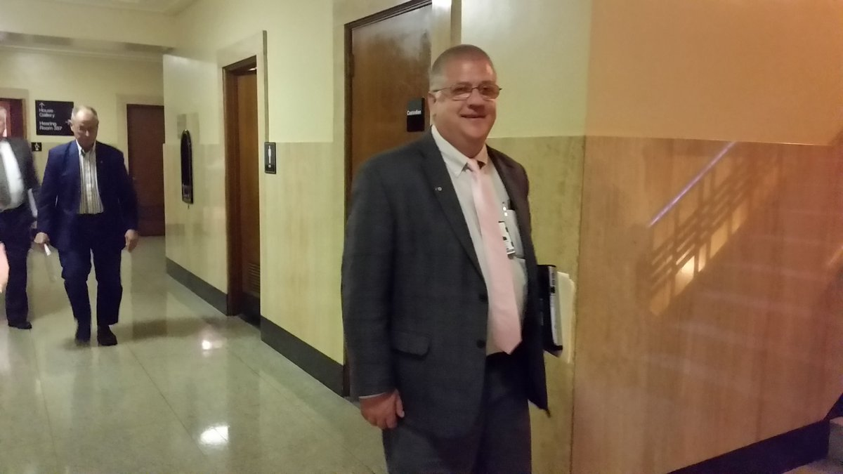 Shortly before 8:30 a.m. on Dec. 21, as his fellow lawmakers met upstairs, state Rep. Mike Nearman opened the Capitol door to far-right extremists armed with rifles and objected to the state's COVID restrictions and sought to disrupt the session underway.