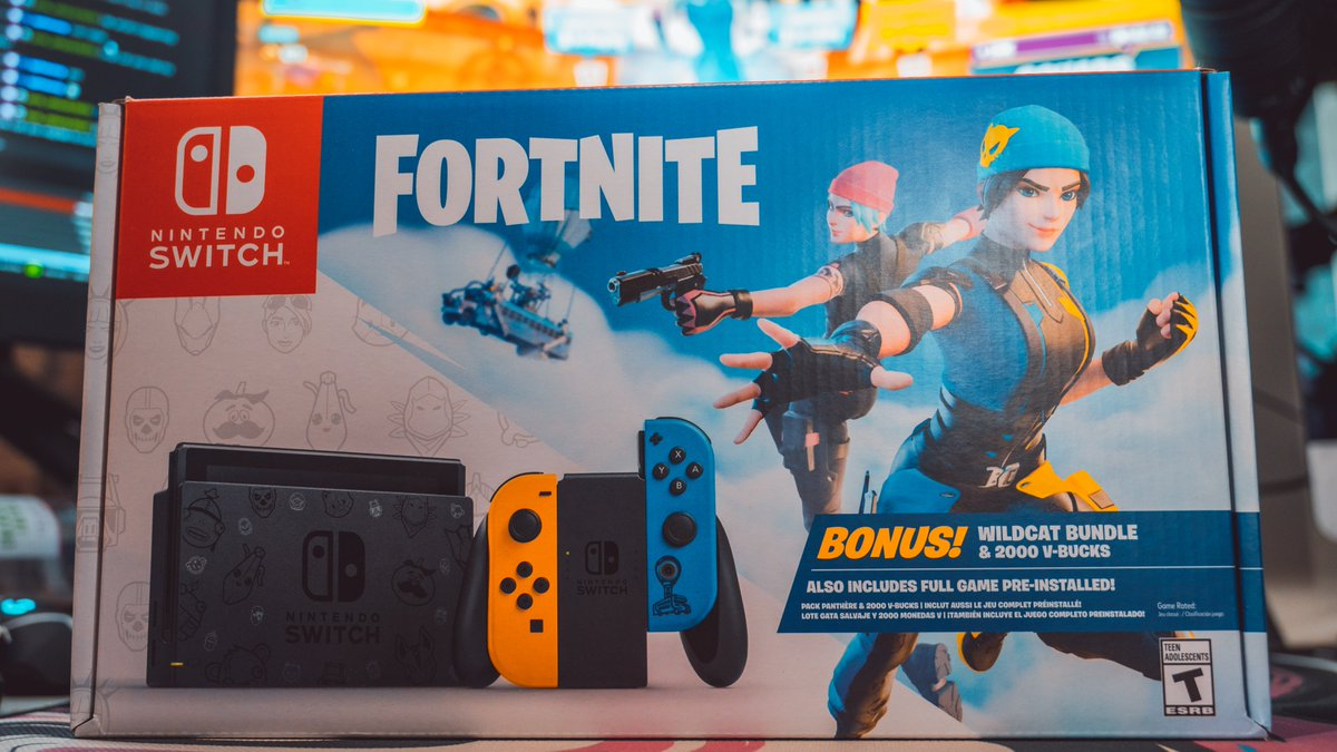 It's time!  We are giving away a Nintendo Switch Wildcat Bundle. This is not just the skin, but the Switch as well!  To enter: Like, Retweet and Follow the Twitter. Extra entries will be given out during my Twitch live streams!   Winner will be chosen 1/16!