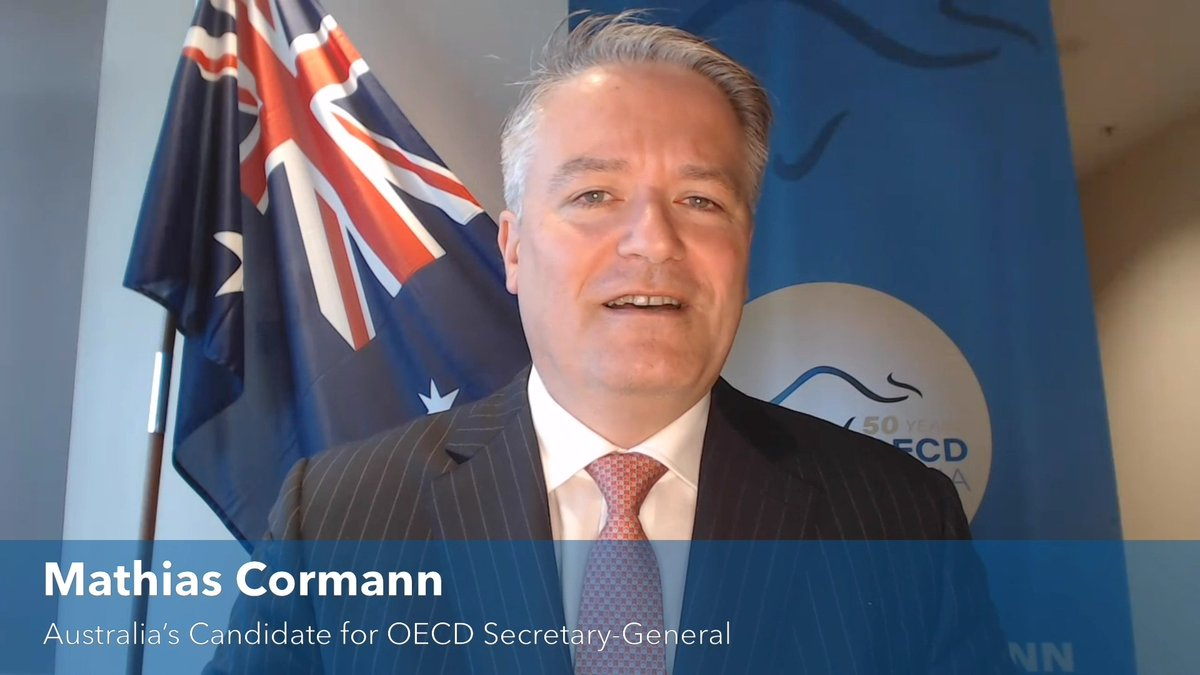 Australian Candidate for OECD's Secretary-General @MathiasCormann on the value of the @OECD.   Watch the full interview here: