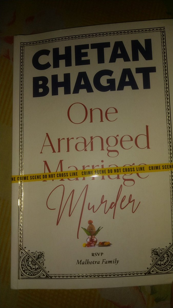 @chetan_bhagat just finished. I'm a Delhi metro employee working at RK Puram (magenta line). Finished it in 3 days is a great achievement for me because I have a little knowledge of English.