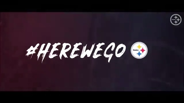 Replying to @steelers: It's playoff time in Pittsburgh 😤  #HereWeGo | #SuperWildCard | #CLEvsPIT: Sunday at 8:15 pm on NBC