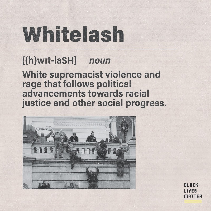 White violence after racial justice is a pattern. There's a word for that.