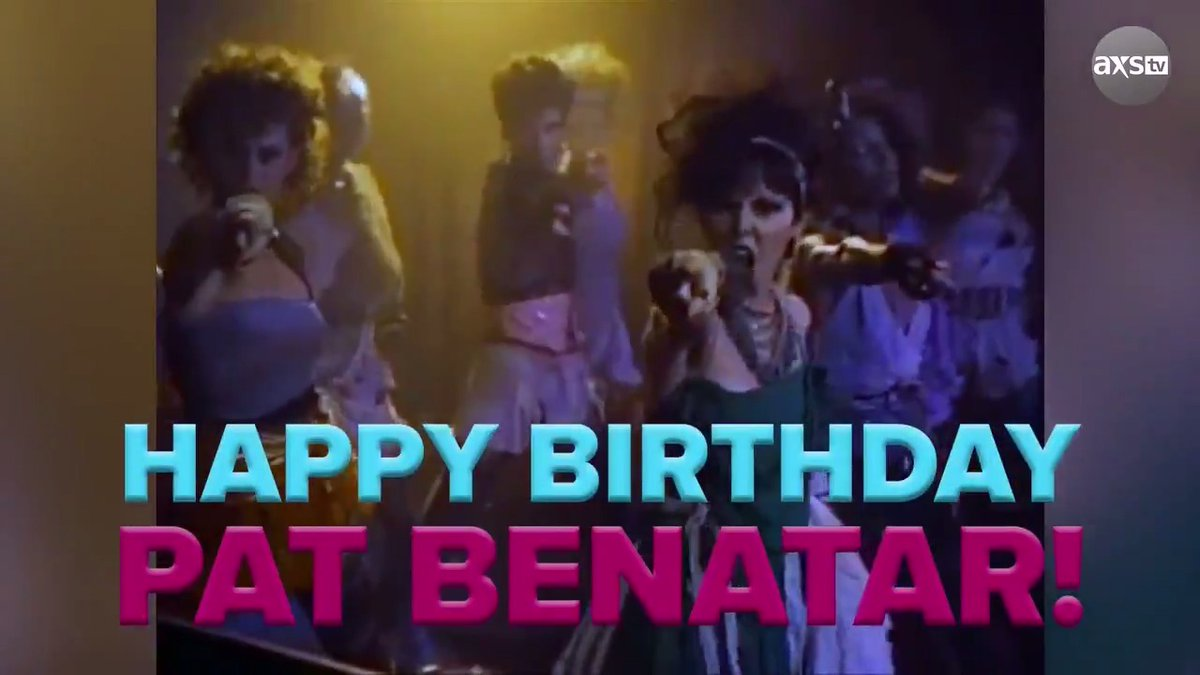 """If you look up """"Queen of Rock & Roll"""", we're going to bet you'll see a picture of Pat Benatar. Happy birthday! @BenatarGiraldo  Watch her full #TheBigInterview:"""