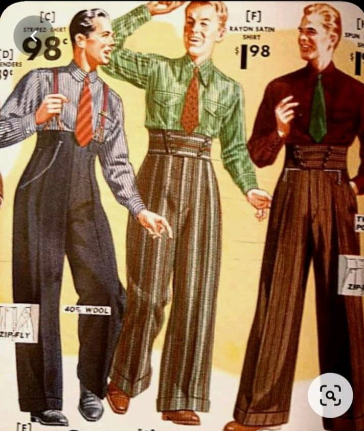 Replying to @dangoub: men, what's stopping you from dressing like this