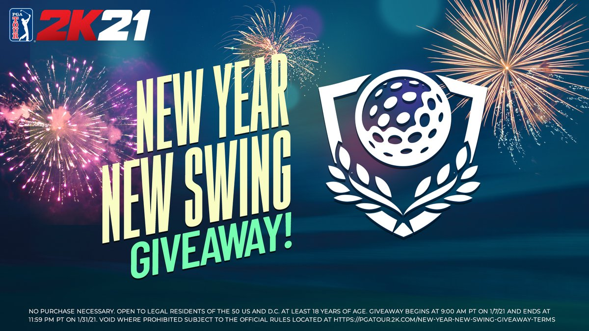 It's the first golf weekend of the year!⛳️   Let's start the year off right with a giveaway of #PGATOUR2K21 Season One Clubhouse Pass AND a copy of the game!   RETWEET with #NewYearNewSwing & #giveaway & make sure you FOLLOW @PGATOUR2K to enter.   Rules: