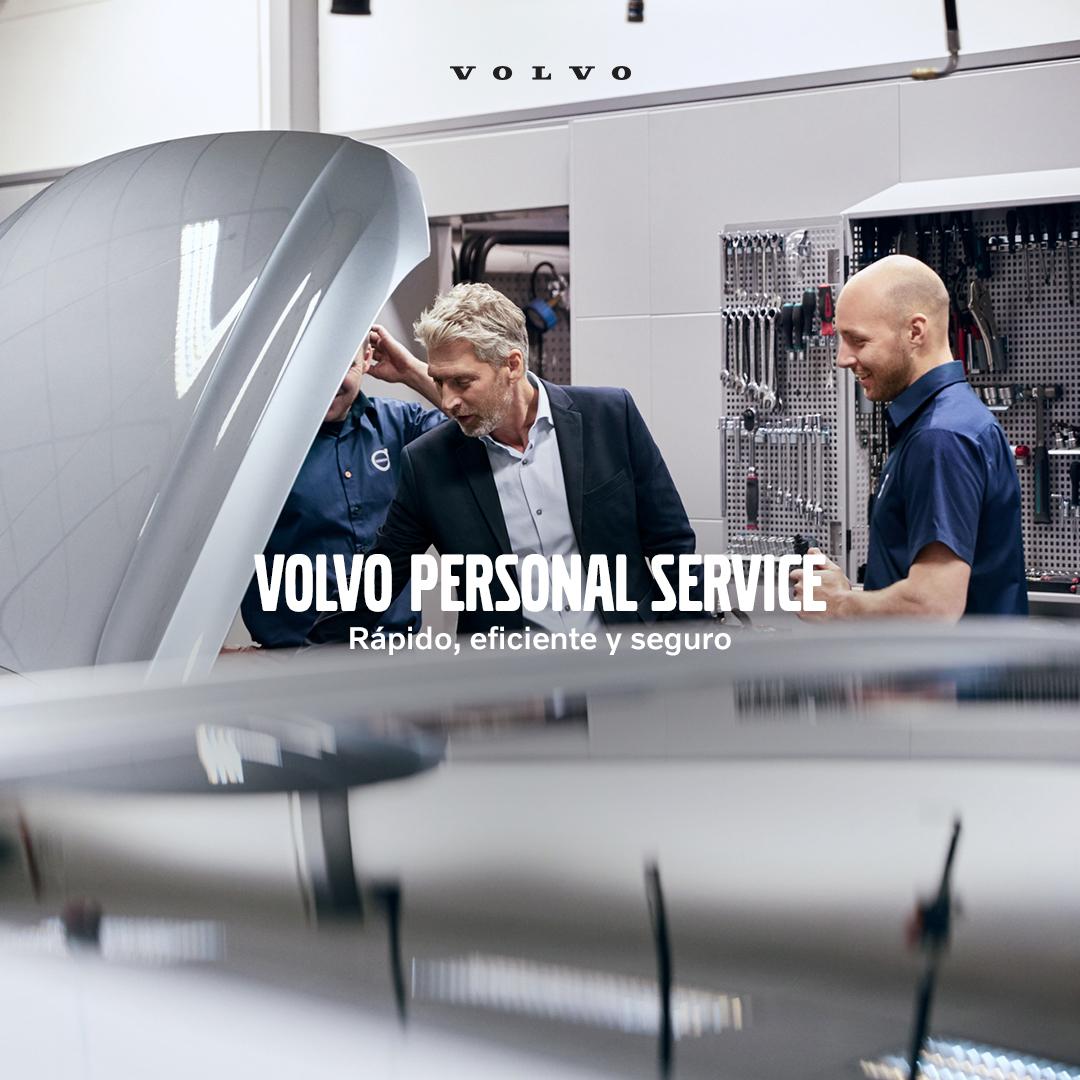 Hemos ideado un nuevo enfoque para el mantenimiento de tu vehículo, uno más simple y eficiente. Ahora, nuestros técnicos expertos trabajan en equipo para que la mayoría de los servicios no duraren mas de una hora. #VPSVolvo