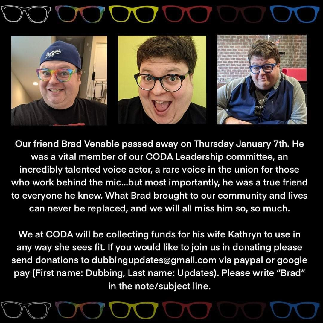 If you would like to honor @bradvenable, please consider donating if you can.  We hope we can continue his legacy and bring as much light into the community as he did for us.