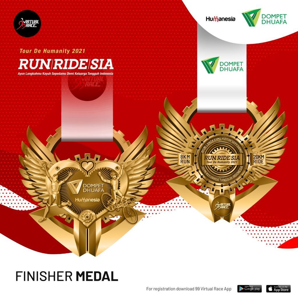 Medali � RUNRIDESIA • 2021