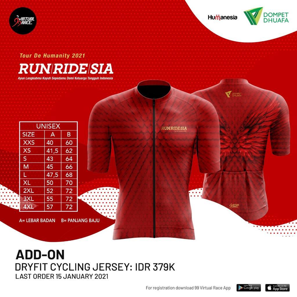 Cycling Jersey 👕 RUNRIDESIA • 2021