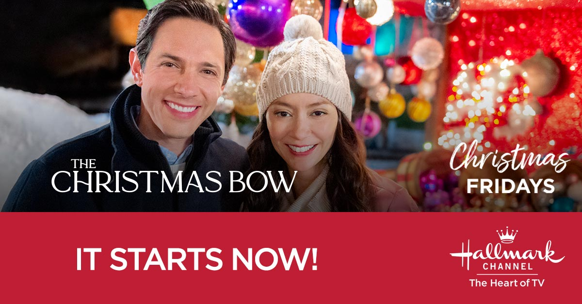 After Kate @theloosh suffers a hand injury, she fears her violin career may be over – but a Christmas miracle and lots of support might just help her heal. Christmas Fridays starts NOW, so tune in for #TheChristmasBow!