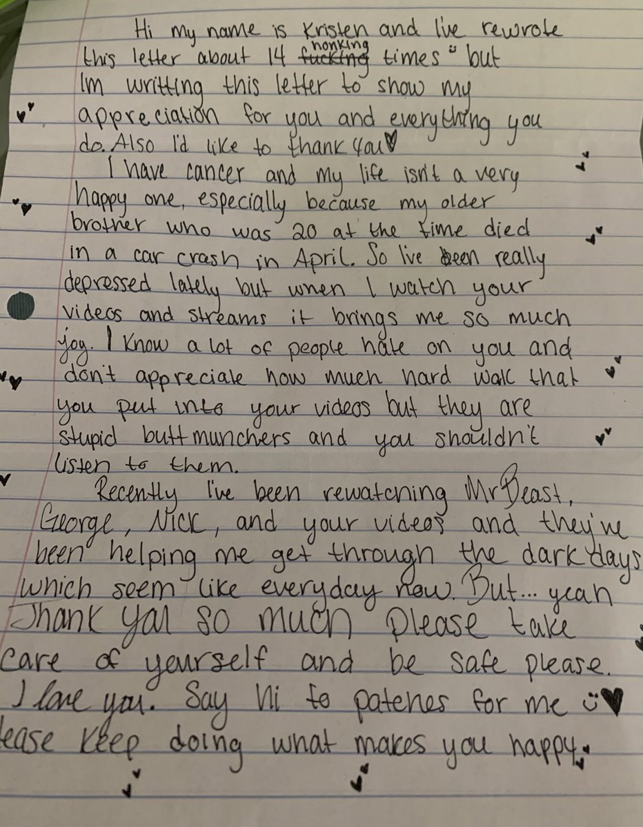 Replying to @dreamwastaken: made me tear up, love ya Kristen ❤️❤️🥺