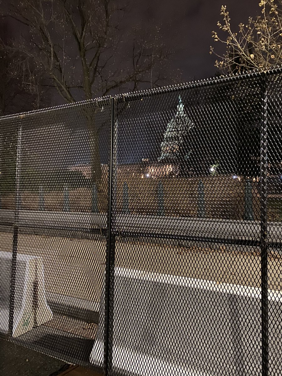 "Here's what #TraitorTrump and his mob have done to our #USCapitol. #DCPolice are around perimeter sleeping in cars; military and failed @CapitolPolice yuck it up on ""posts,"" oblivious to failures, unprofessional and out to lunch. @SpeakerPelosi & @MayorBowser this is a mess. 😡 https://t.co/Z356ROpGRm"