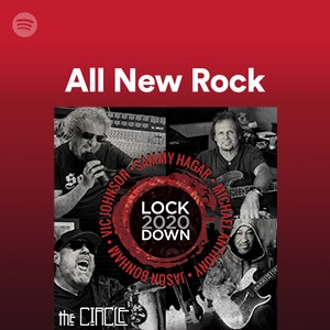 "Happy Release Day! The Lockdown 2020 version of ""Right Now"" was added to @Spotify's All New Rock playlist!    Check it out and stream The Circle's Lockdown 2020 at"