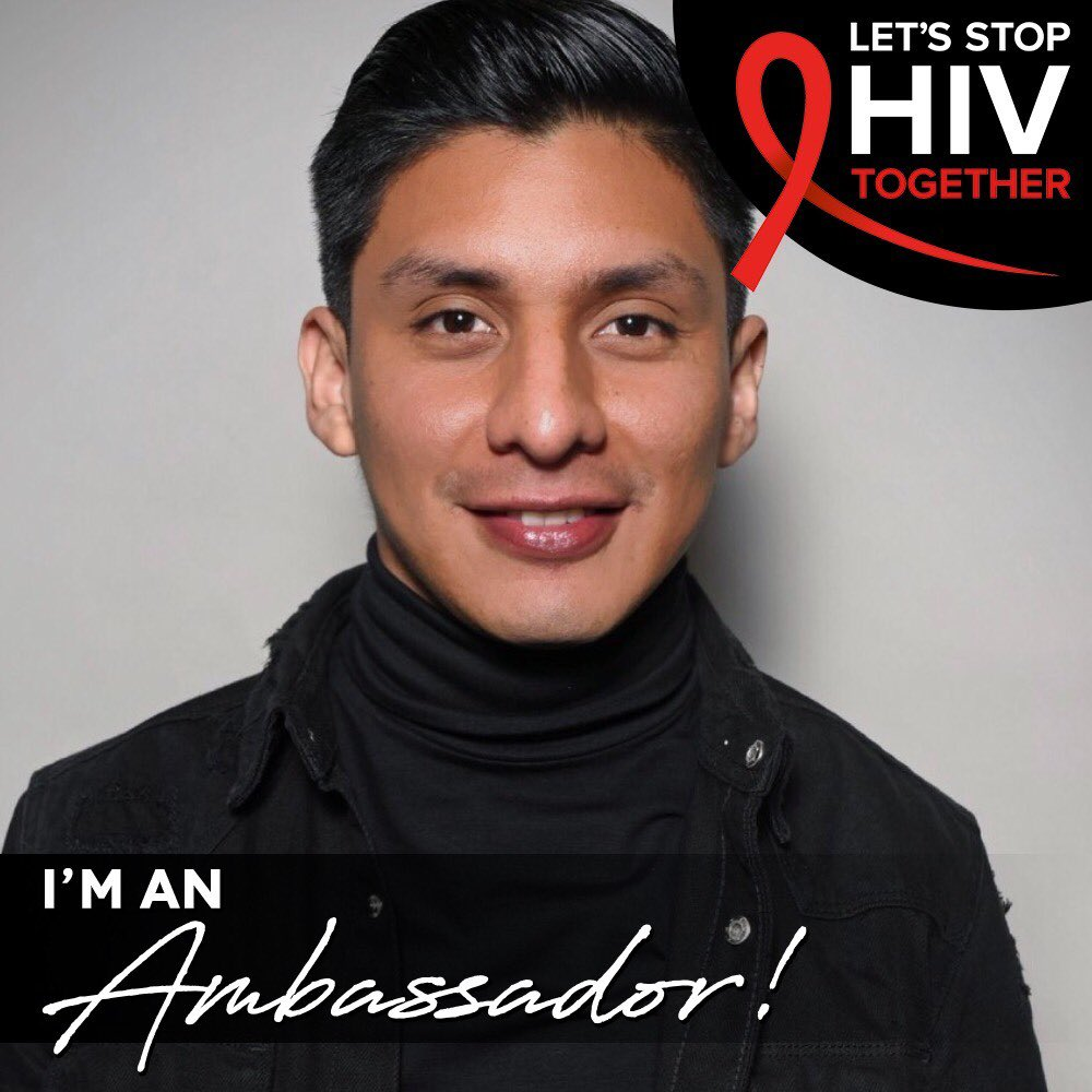 I'm excited to announce that I am an ambassador for CDC  Let's Stop HIV Together campaign. @CDC_HIVAIDS  #StopHIVTogether #HIV #CDC #letsdothis #newyorkcity #brooklyn