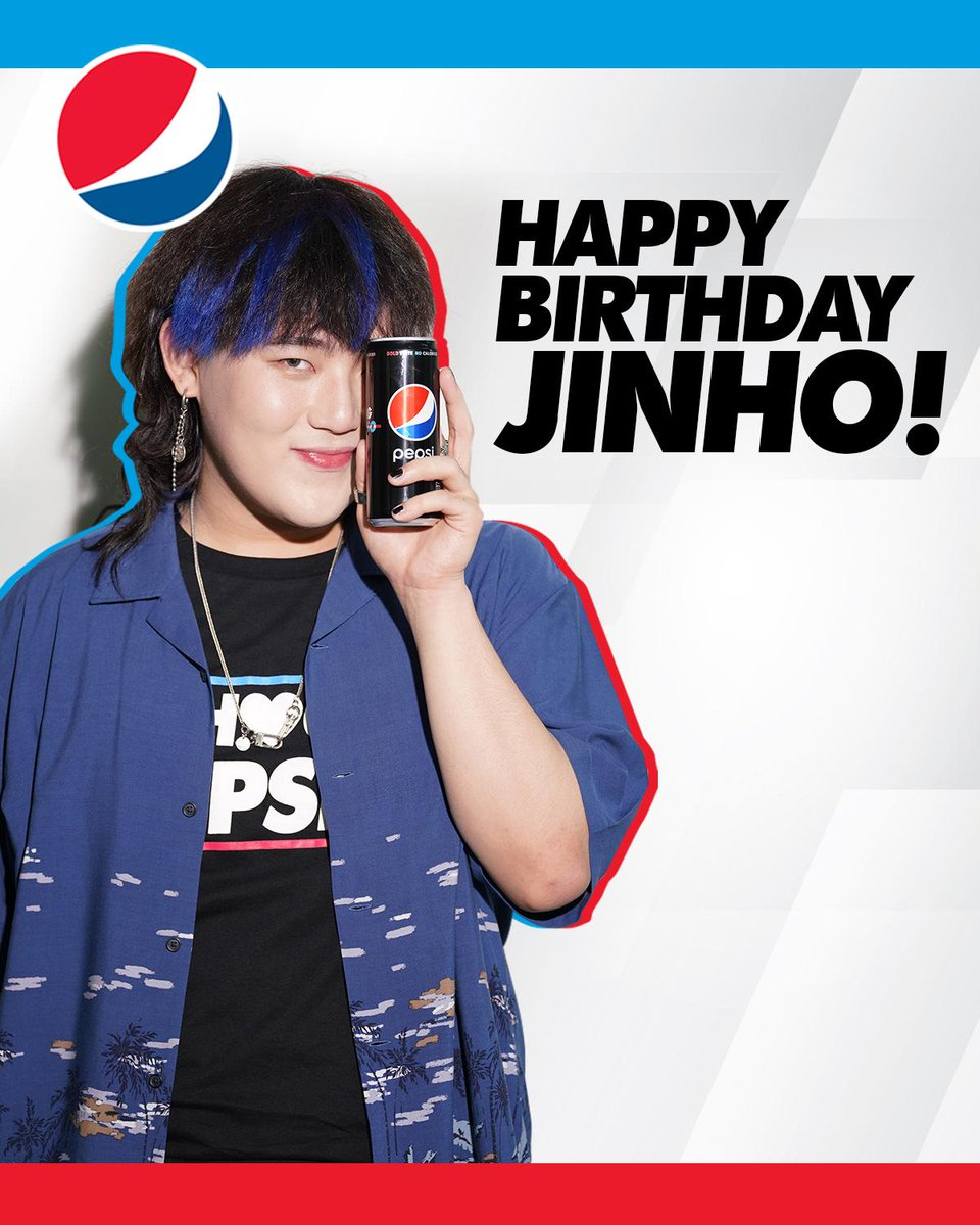 Saeng-il chukhahaeyo, @_jinhobae ! Your Pepsi Fam wishes you a happy birthday and we hope more happiness comes your way 💙 #SundinAngPuso